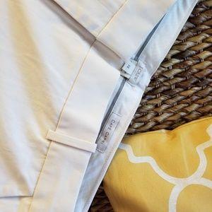 NWT J. Crew | Cafe Capri Trousers Ivory/Cream - 14
